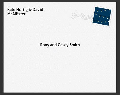 Wedding Card Envelope Wording by Wedding Invitation Wording Addressing Modern Envelopes