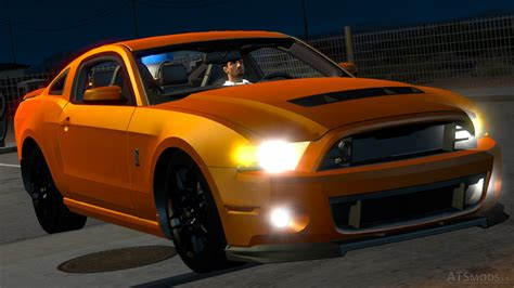 ford mustang shelby gt500 american truck simulator mods