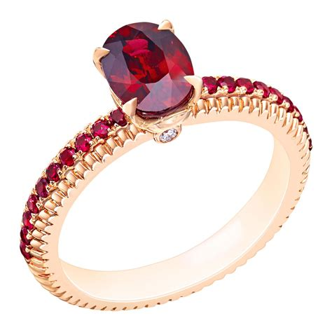 Wedding Ring Ruby by Oval Ruby Engagement Ring Faberg 233 The Jewellery Editor