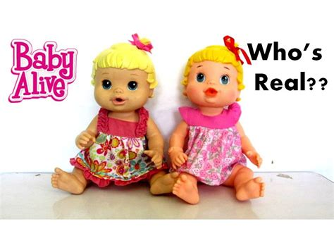 Baby Alive Baby Real baby alive who s real vs real