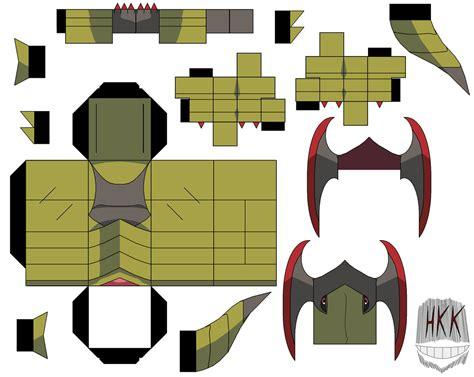 Paper Crafting Websites - haxorus paper free printable papercraft templates