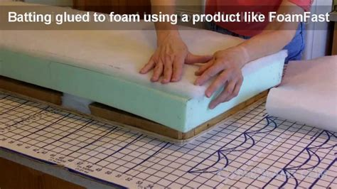 how to upholster a bench cushion how to upholster a bench youtube
