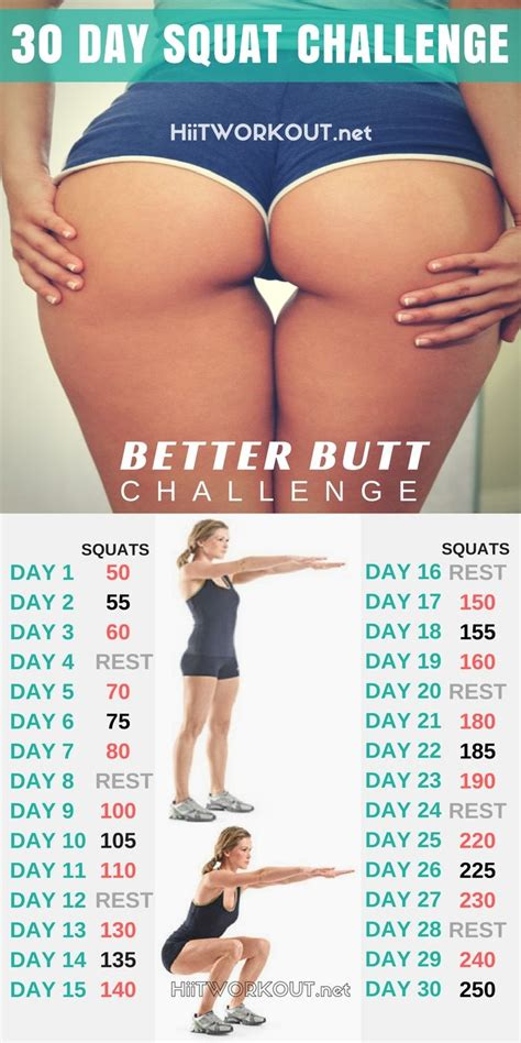 challenge result best 25 squat challenge results ideas on 30