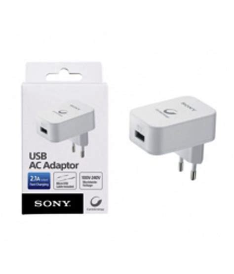 Sony Adaptor Cp Ad2 Usb Ac Adaptor 2 1a Fast Charging Original sony usb ac adaptor cp ad2 buy sony usb ac adaptor cp ad2 at best prices in india on