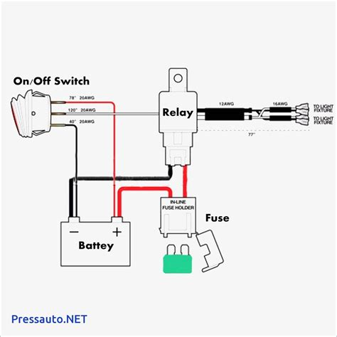 12 volt switch wiring diagram gallery electrical