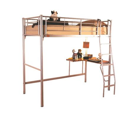 Sweet Dreams Opal Metal High Sleeper Bed Frame By Sweet Dreams High Sleeper Bed Frame
