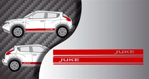 Racing Paradise Sticker by Stickers Bande Laterales Racing Nissan Juke 2