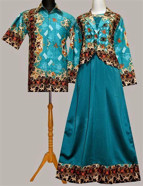 Baju Batik Muslim baju gamis batik kombinasi 2014 design bild