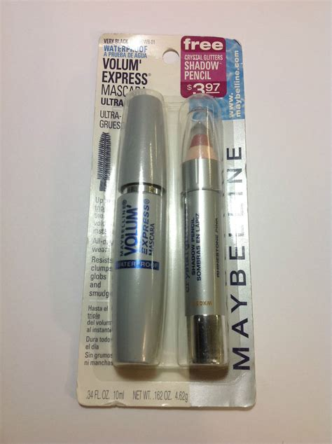 Maybelline Volume Express maybelline volume express waterproof mascara black
