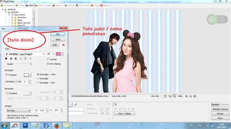 cara membuat blog fanfiction exo cara membuat cover fanfiction dengan photoscape