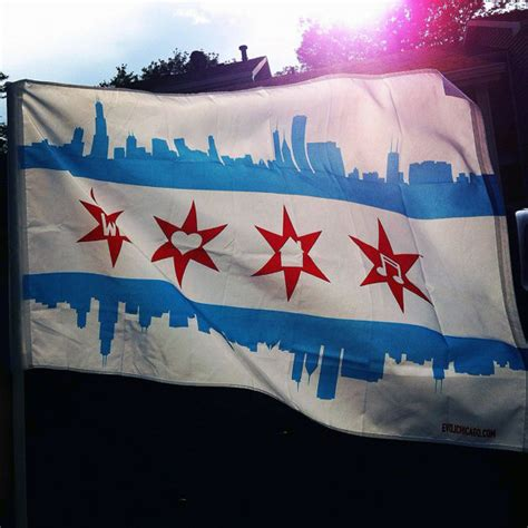 we love house music we love house music chicago flag by evolchicago on etsy
