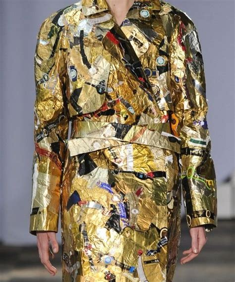 Margiela Brings Recycling To 2007 Haute Couture 66 best recycled material found objects images on