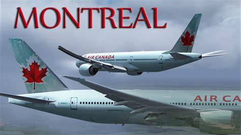 bureau air canada montreal fsx air canada 777 200lr to montr 233 al
