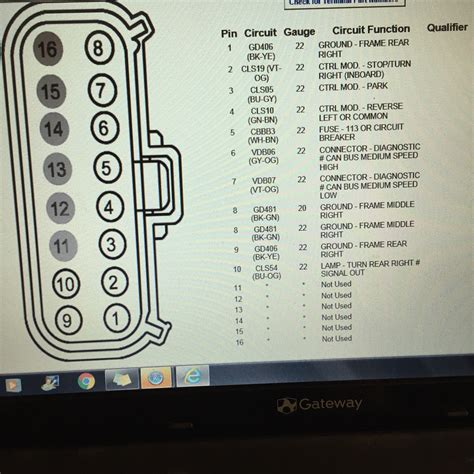 wiring diagram for rear trailer lights images diagram