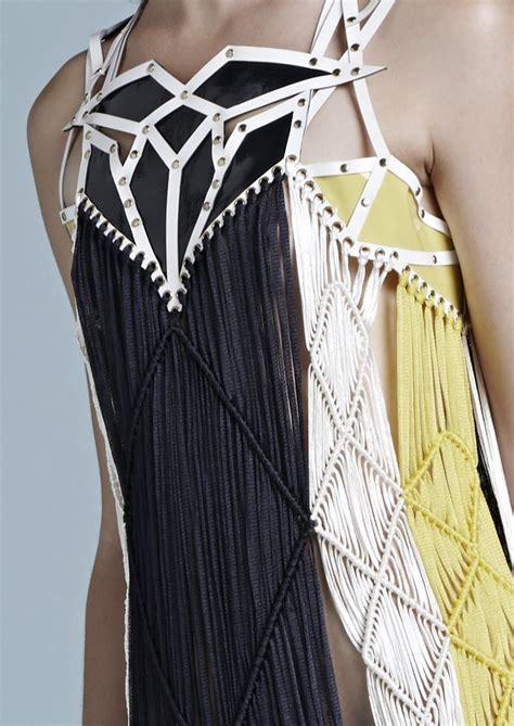 Sweater Dc By Amoroso macram 201 fringed dress aesthetic fringe