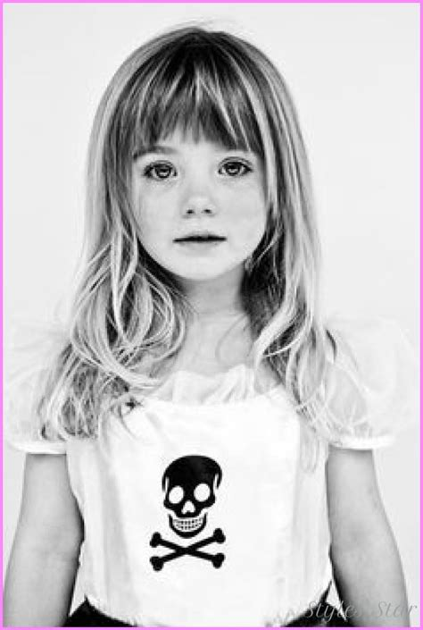 childrens haircuts bangs awesome little girls haircuts with bangs hair beauty