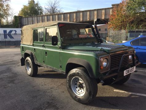 land rover defender 110 convertible land rover defender 110 county sw 300tdi convertible