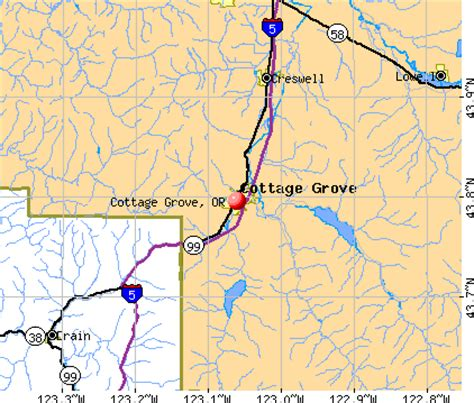 Cottage Grove Hospital Oregon by Cottage Grove Oregon Or 97424 Profile Population Maps