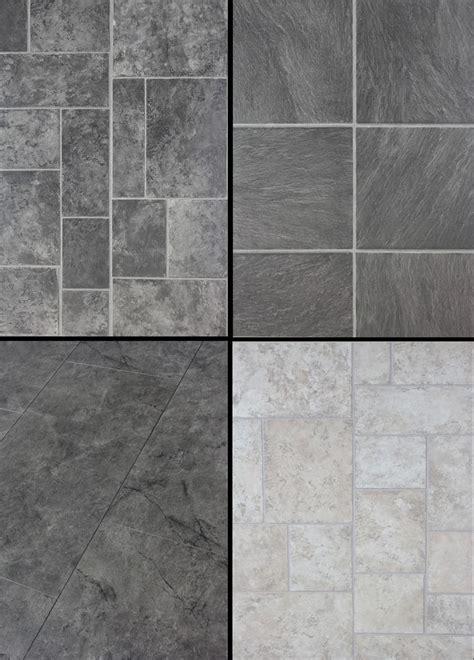 tile effect laminate flooring floor packs choice of 4 slate cream grey black ebay