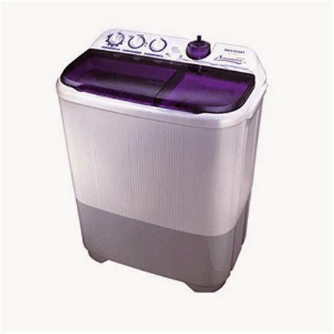 Mesin Cuci Sharp 1 Tabung Terbaru daftar harga mesin cuci terbaru lg samsung sharp dll