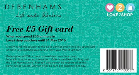 printable vouchers to use in store free 163 5 gift card with your love2shop vouchers love2shop