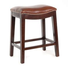 Cognac Leather Counter Stool by Collection 3 Pack Bar Stools Adjustable Height To