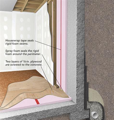 basement insulation code insulate basement floor home design