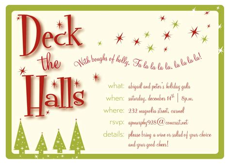 christmas invite wording for the office template invitations invitation template free invitations