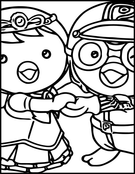 pororo coloring pages kids coloring europe travel