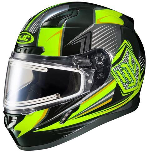 motocross helmet with face shield 164 01 hjc cl 17 cl17 striker electric shield full face