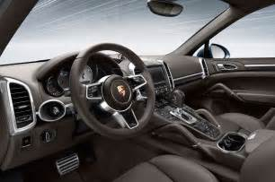 Porsche Interior 2015 Porsche Cayenne Interior Photo 11
