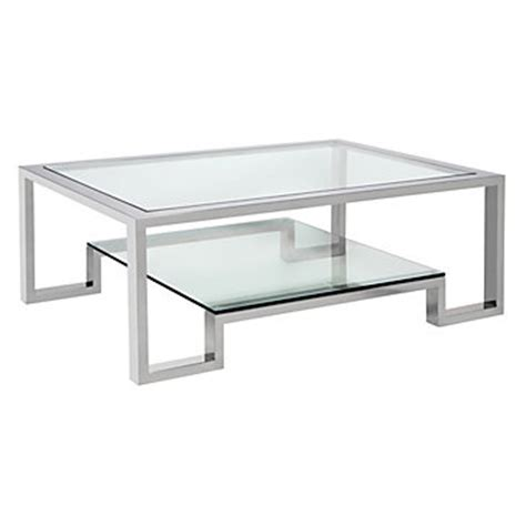 worlds away winston nickel plated coffee table look 4 less