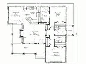 Simple 2 Bedroom House Plans Bedroom Designs Contemporary Two Bedroom House Plans With Porch And Backyard Deck Floor Plan