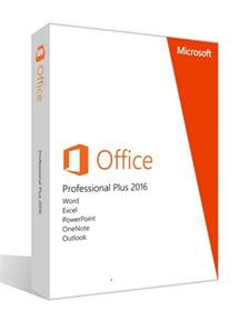 Office Professional Plus 2016 Microsoft Office Professional Plus 2016 Espa 241 Ol