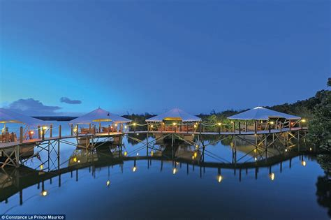 bungalows mauritius the world s most opulent overwater bungalow getaways