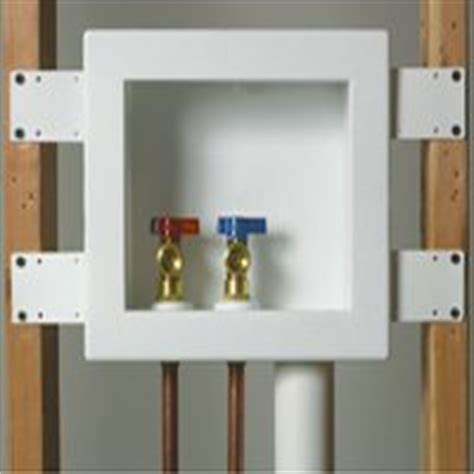 washer dryer outlet box cover washer and dryer hookups installation optional stackable washer replace washing machine shutoff valve