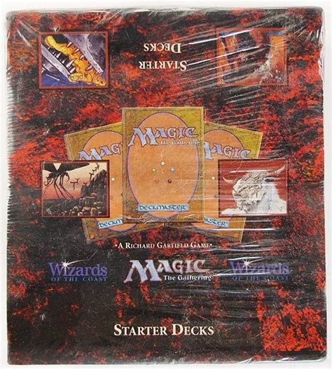 Magic The Gathering White Starter Deck by Magic The Gathering 4th Edition Starter Deck Box Sealed