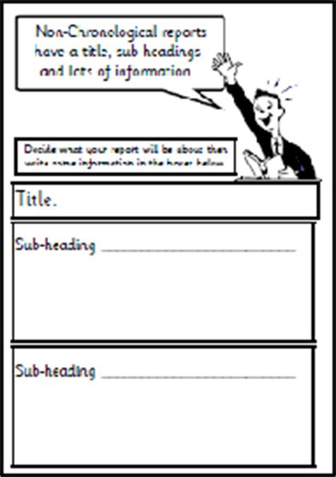 chronological report template writing non chronological reports ks2 stonewall services