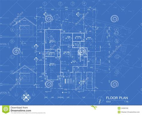 blueprint floor plan blueprint overlay stock photo image of window real