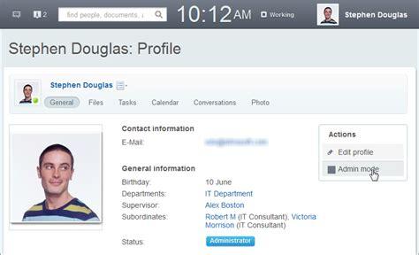 admin profile template disk treinamento bitrix24 p 225 de perfil