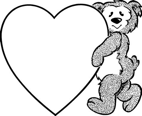 Coloring Pages For Valentines Day Printable free printable coloring pages for