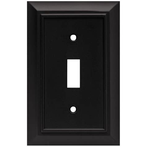 liberty architectural decorative single switch plate flat