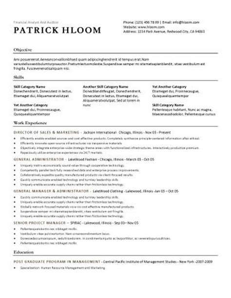 basic sle of resume free resume template traditional template style with