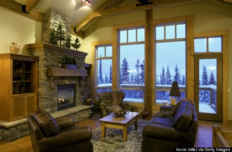 Cabin Ideas by How To Make Your Home Feel Like A Luxe Ski Lodge Huffpost