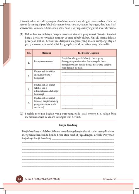 contoh format buku jurnal kelas contoh soal jurnal umum kelas x job seeker