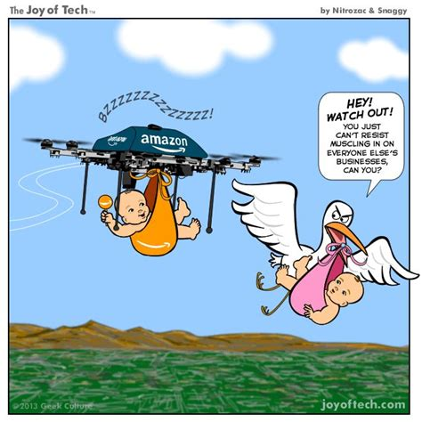 Drone Puns Of Tech What Things Will Deliver If Its Drone Program Takes Technology