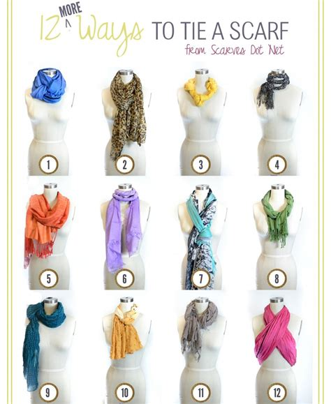 7 Ways To Tie A Scarf Or Pashmina by 10 Most Viewed Projects From Happy Hour Design Dining