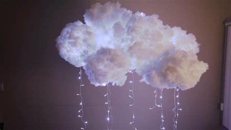 kann licht in tropfen decke diy wolken le basteln f 252 r interessante lichteffekte