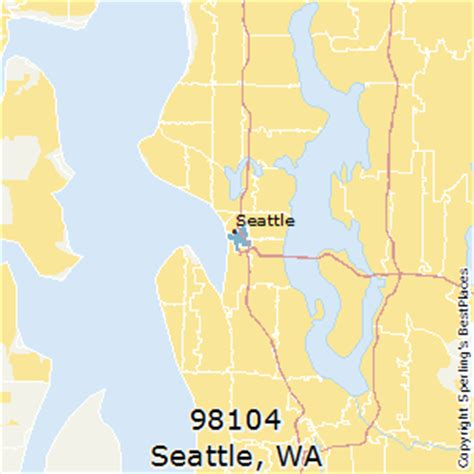 zip code maps seattle best places to live in seattle zip 98104 washington