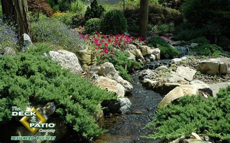 backyard streams ideal landscaping takes planning